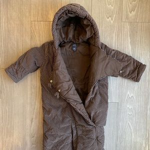 Baby Gap // Corduroy Baby Bunting Suit // 6-9 Mos